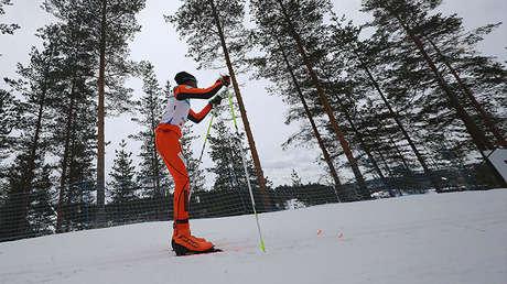Adrián Solano, esquiador venezolano.