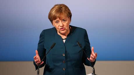 La canciller alemana Angela Merkel en Múnich, Alemania, el 18 de febrero de 2017.
