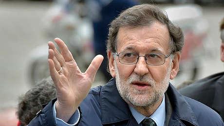 Llegada del presidente del Gobierno español, Mariano Rajoy, a la reunión del PP europeo, celebrada este jueves antes de la Cumbre de la UE
