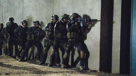 Imagen del telefilme de National Geographic 'SEAL Team Six: The Killing of Osama bin Laden'