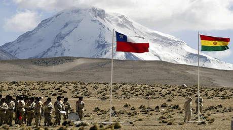 Comienzo del proceso de desminado de la frontera nororiental de Chile con Bolivia, el 21 de julio de 2005.