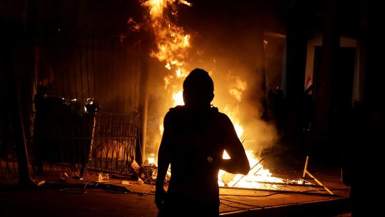 Incendian el Congreso de Paraguay en protesta contra reforma constitucional (FOTOS, VIDEOS)
