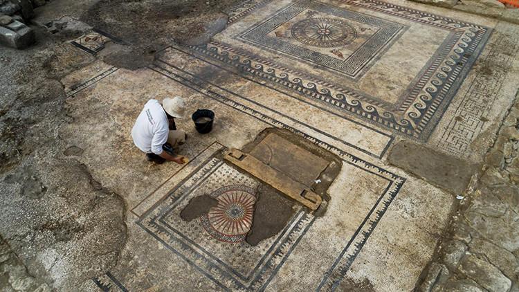 FOTOS: Descubren en Francia una ciudad romana en un estado deslumbrante de conservación
