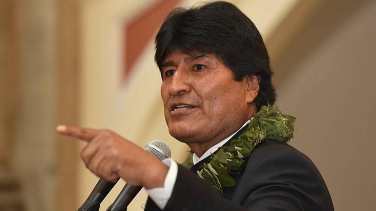 """Evo Morales al secretario general de la OEA: """"¿Habrá Carta Democrática para Paraguay?"""""""
