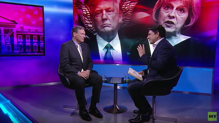 """Diplomático de EE.UU. sobre el 'espía' Trump: """"¿Copian la realidad de algunas series de televisión?"""""""