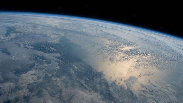 Un astronauta francés publica una espectacular imagen de la aurora boreal desde la EEI (FOTO)