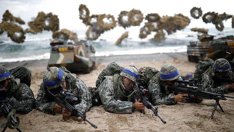 EE.UU., Corea del Sur y Japón llevan a cabo simulacros navales contra submarinos de Pionyang