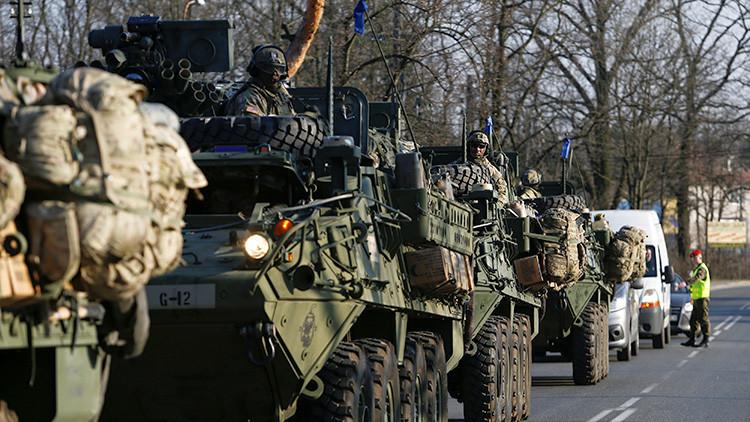 VIDEO: La OTAN instala un grupo de combate en Polonia con obuses y misiles cerca de la frontera rusa