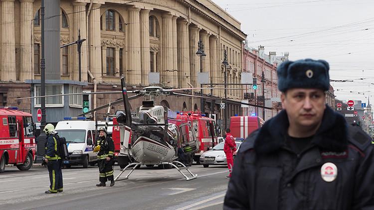 Publican una foto del artefacto explosivo que no detonó en el metro de San Petersburgo