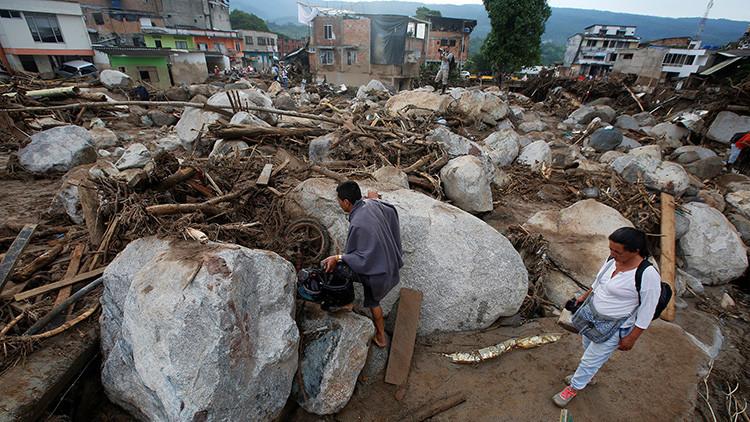"""""""Saltando de techo en techo"""": Hablan los supervivientes de la tragedia de Mocoa"""