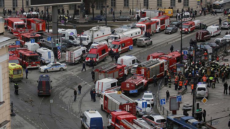 Publican el video del supuesto autor de la explosión en el metro de San Petersburgo