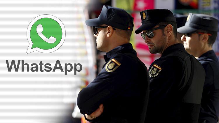 La Policía española prohibe el WhatsApp y crea su propia aplicación de mensajería