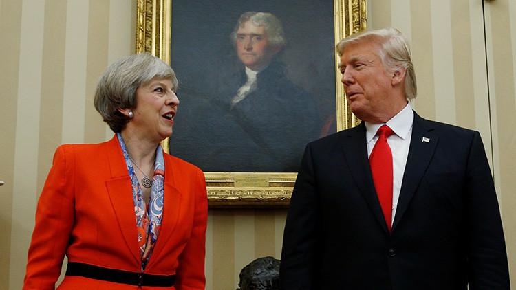 Theresa May se opone a que EE.UU. actúe unilateralmente con Corea del Norte
