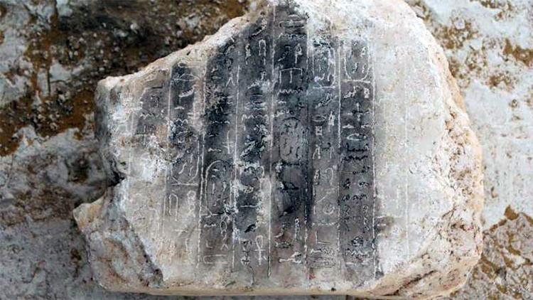 FOTOS: Encuentran restos de una pirámide desconocida construida hace 3.700 años en Egipto