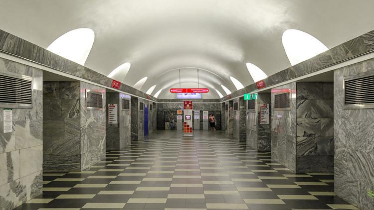Cierran una estación del metro de San Petersburgo por un objeto sospechoso