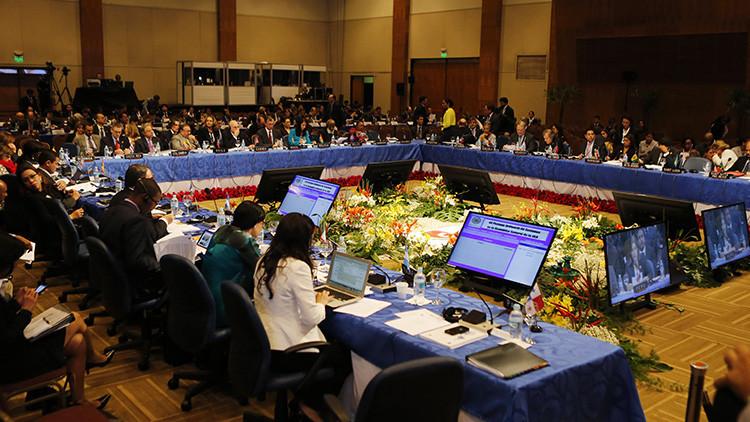 """Bolivia denuncia """"golpe institucional"""" en sesión de la OEA"""