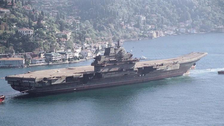 Se avecina el lanzamiento del primer portaviones de fabricación china