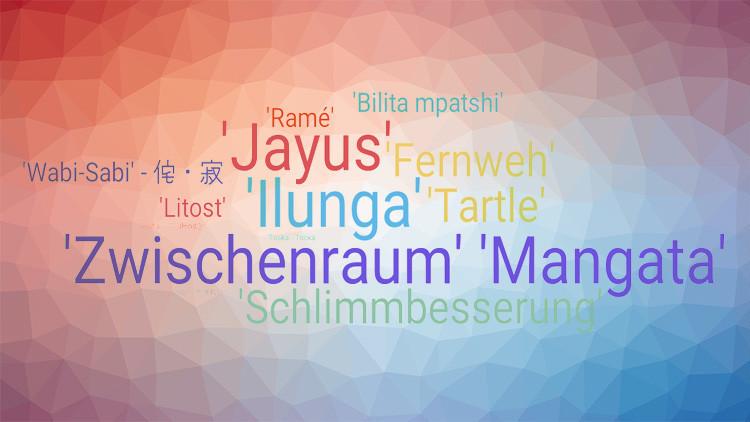 ¿Qué diablos significa eso? 15 palabras hermosas y útiles que no existen en español
