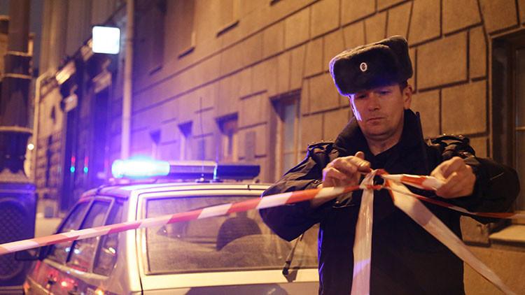 FOTO: El nerviosismo del supuesto autor del atentado de San Petersburgo momentos antes de la masacre