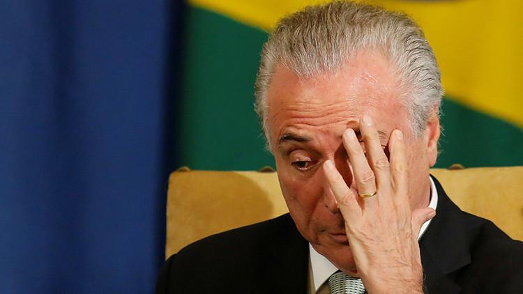 Arranca el proceso judicial que podría remover del cargo a Temer en Brasil