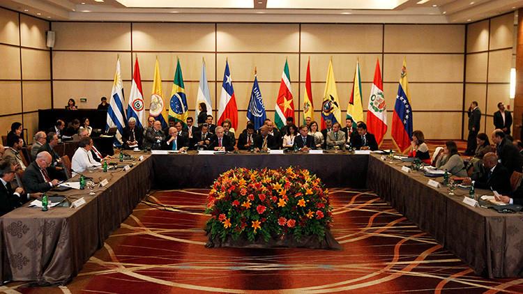 """Unasur a la OEA sobre Venezuela: """"La intervención nunca será tan efectiva como el diálogo"""""""