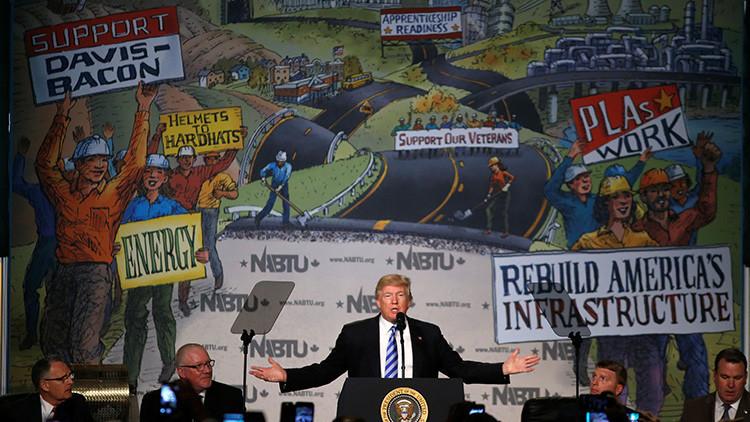 """Trump: """"No soy y no quiero ser el presidente del mundo"""""""