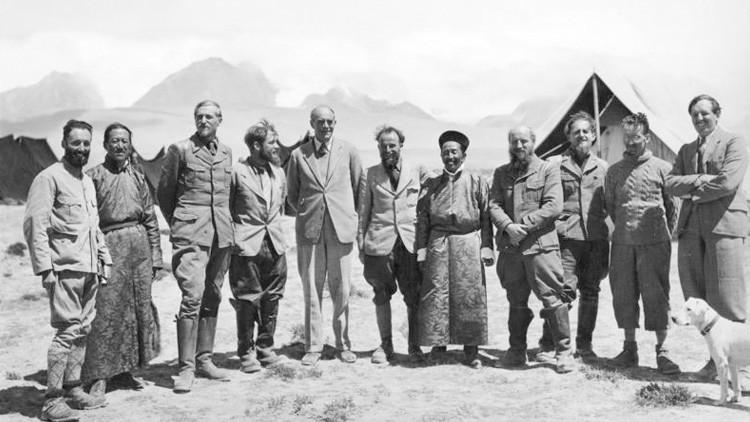 Revelan que la expedición nazi al Tíbet se convirtió en una 'maratón' de alcohol y caza