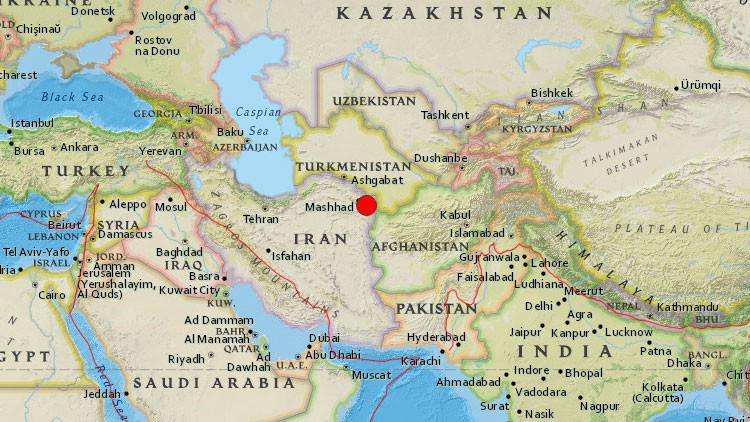 Un terremoto de magnitud 6,1 sacude Irán