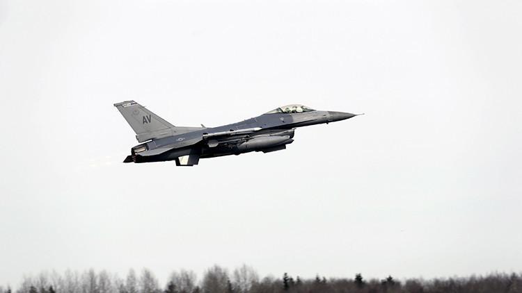 VIDEO: Un F-16 del Ejército de EE.UU. se estrella cerca de la base aérea de Andrews en Maryland