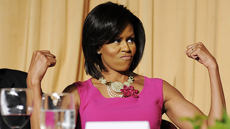 ¡Al natural!: Esta foto de Michelle Obama sacude la Red