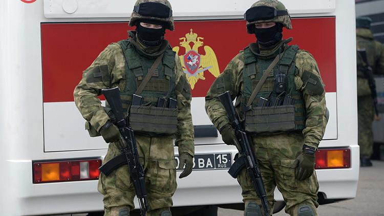 Abaten a los supuestos asesinos de dos policías en el sur de Rusia