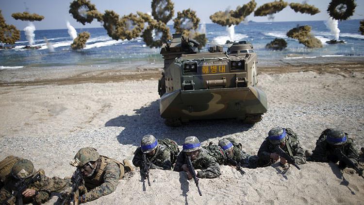 EE.UU. y Corea del Sur se preparan para unos ejercicios de artillería conjuntos a gran escala