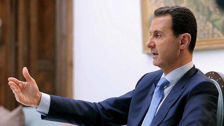Al Assad: En Siria combaten 100.000 terroristas que pueden dirigirse a Europa