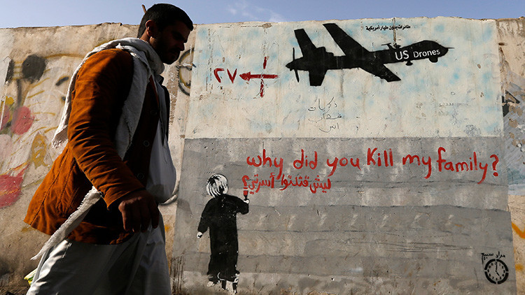 """""""EE.UU. dice que quiere acabar con los terroristas, pero lo que hace es matar a los civiles"""""""