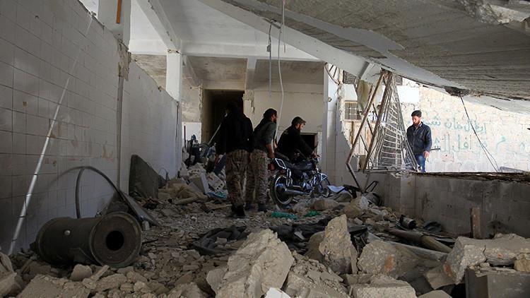 """Kremlin: """"Nadie, ni siquiera EE.UU., tiene datos verificados del uso de armas químicas en Idlib"""""""