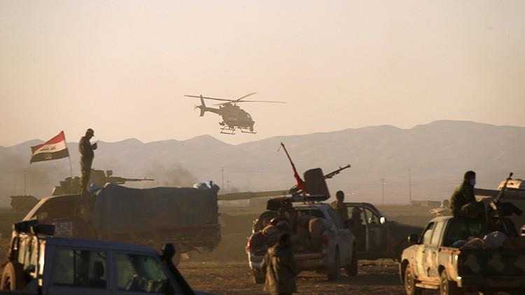 FUERTES IMÁGENES: Terroristas suicidas se inmolan en intensos combates en Irak (VIDEO)