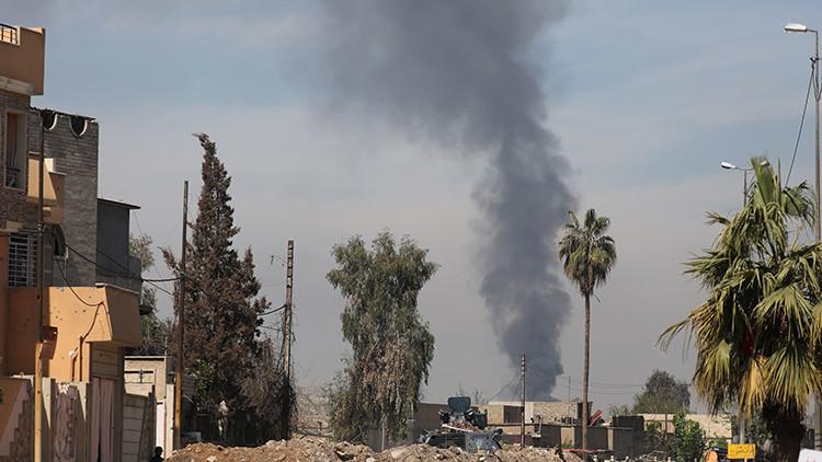 El Estado Islámico derriba un helicóptero militar iraquí en Mosul