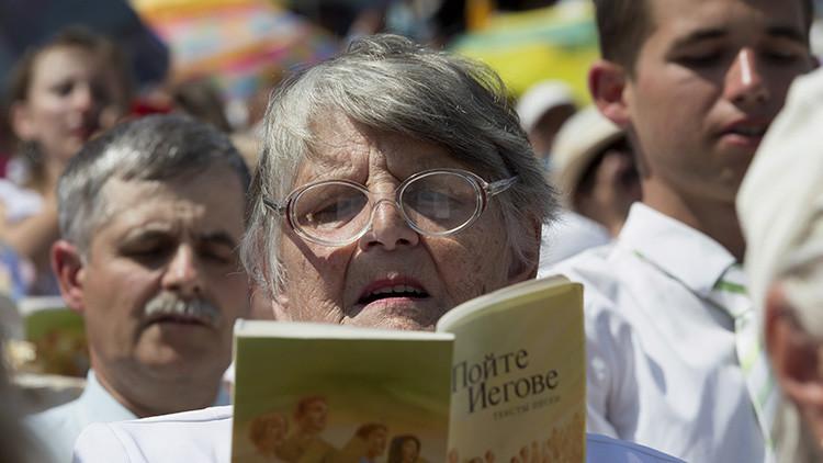Rusia confiscará los bienes de los Testigos de Jehová si el Tribunal Supremo prohíbe sus actividades