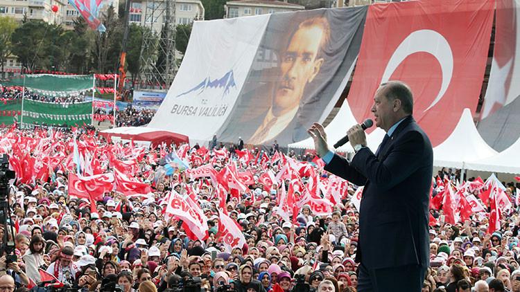 """Erdogan califica a Europa como el """"centro de nazismo"""""""