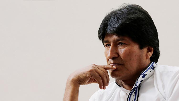 """Evo Morales: """"Almagro es una amenaza para la paz de los pueblos"""""""
