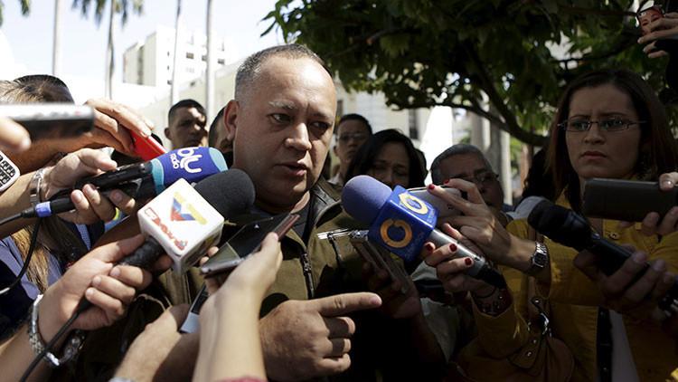 """Cabello a la oposición: """"Nosotros no los vamos a dejar entrar al centro de Caracas"""""""