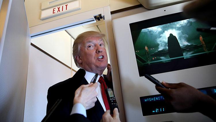 """Trump: """"Algo debería pasar"""" con Assad tras el ataque químico en Siria"""