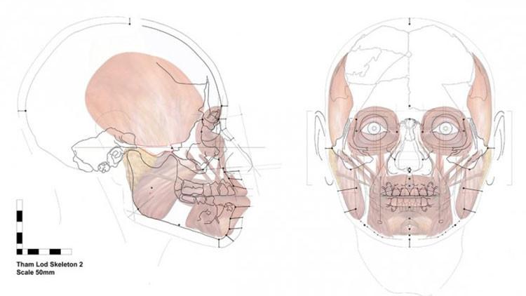 Reconstruyen el rostro de una mujer que vivió hace más de 13.000 años
