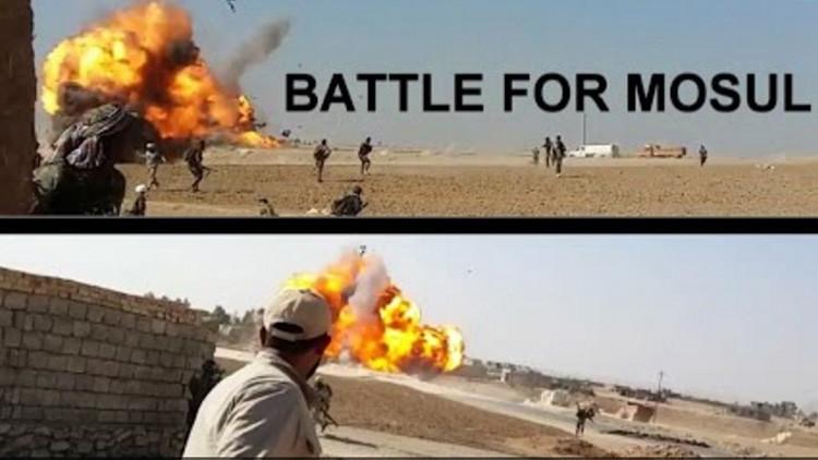 VIDEO: Un soldado iraquí graba el estallido de un coche bomba del Estado Islámico a pocos metros