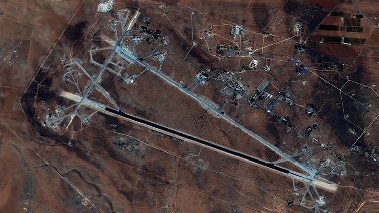 Al menos seis muertos en el ataque de EE.UU. contra una base aérea en Siria
