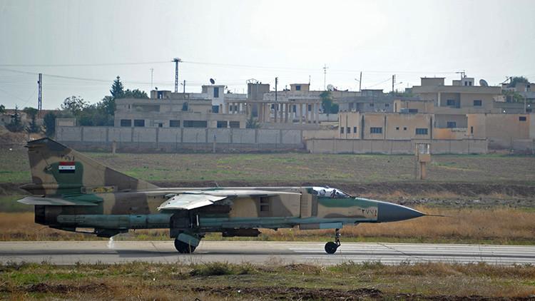 Las Fuerzas Aéreas sirias reanudarán pronto ataques contra el EI desde la base golpeada por EE.UU.