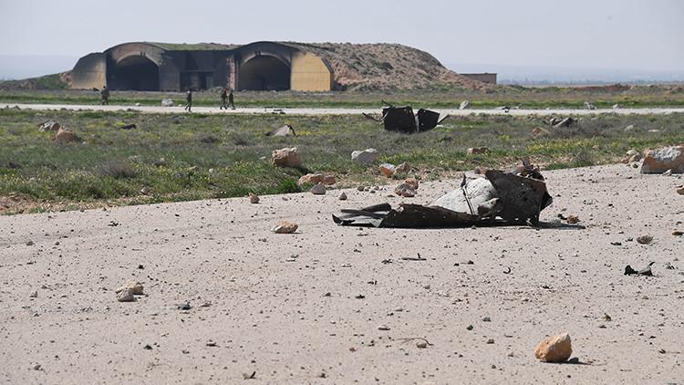 """Rusia: """"El ataque de EE.UU. sobre la base aérea siria ha destruido 6 aviones y un comedor"""""""