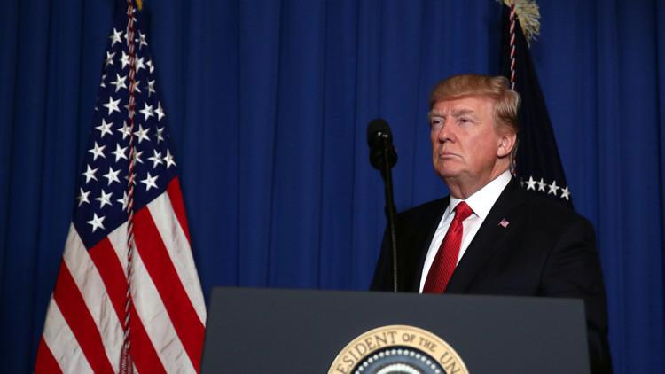 """""""La máquina del poder en EE.UU. ha roto a Trump en dos meses y medio"""""""