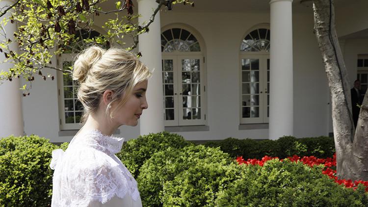 "Ivanka Trump afirma que se siente ""orgullosa"" de su padre tras el bombardeo a Siria"