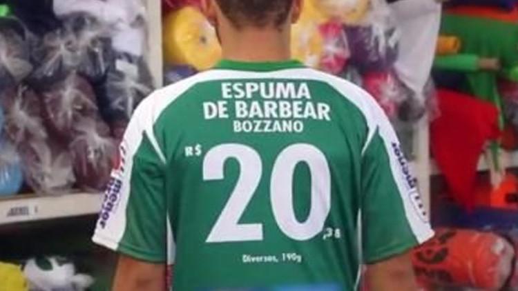 ¿Un futbolista con dorsal 10,98? Un club brasileño concibe una insólita forma de financiarse (FOTO)